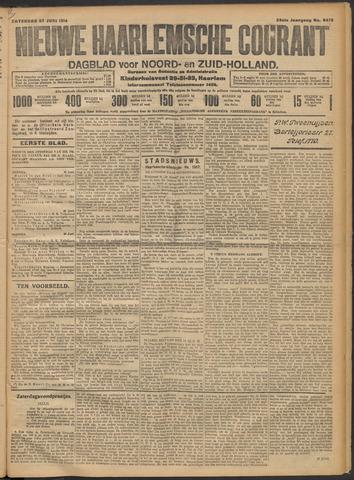 Nieuwe Haarlemsche Courant 1914-06-27