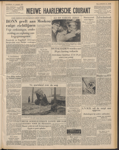 Nieuwe Haarlemsche Courant 1955-01-27