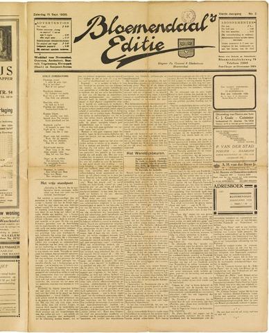 Bloemendaal's Editie 1928-09-15