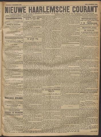 Nieuwe Haarlemsche Courant 1918-11-05