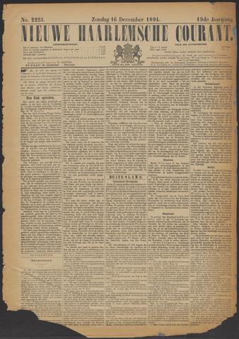 Nieuwe Haarlemsche Courant 1894-12-16
