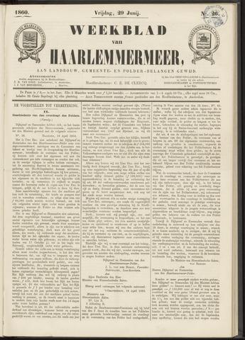 Weekblad van Haarlemmermeer 1860-06-29
