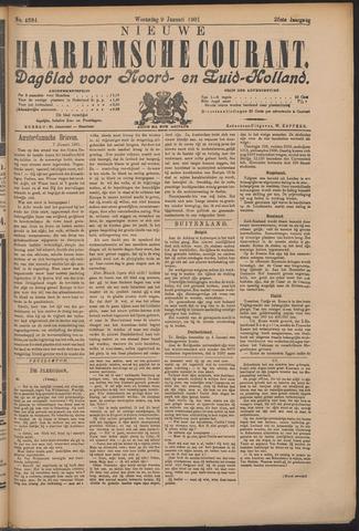 Nieuwe Haarlemsche Courant 1901-01-09