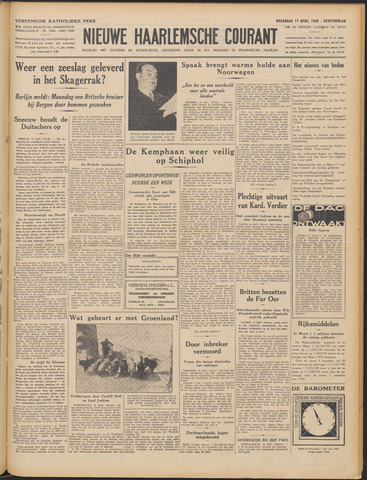 Nieuwe Haarlemsche Courant 1940-04-17