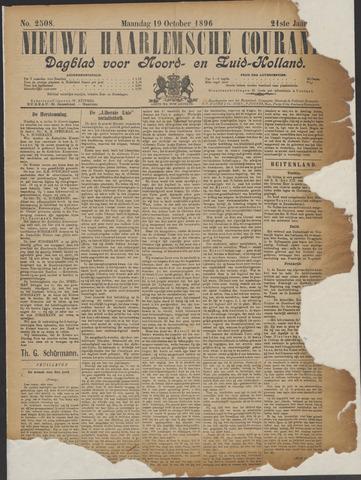 Nieuwe Haarlemsche Courant 1896-10-19