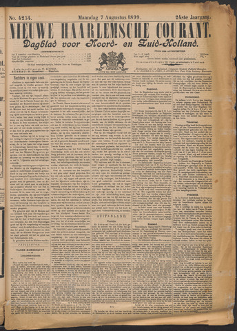 Nieuwe Haarlemsche Courant 1899-08-07