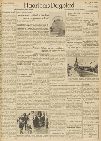 Haarlem's Dagblad 1947-04-26