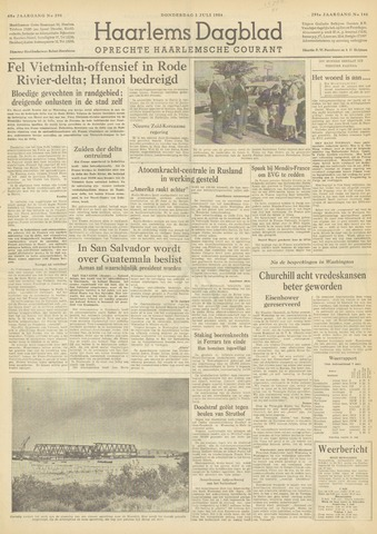 Haarlem's Dagblad 1954-07-01