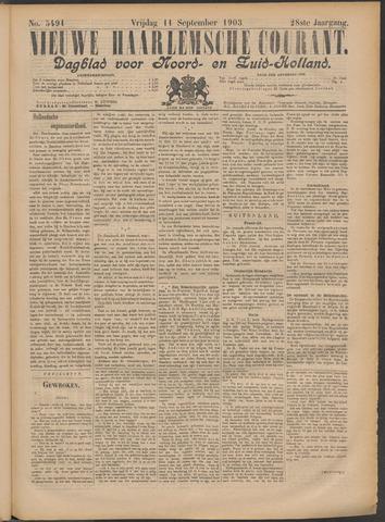 Nieuwe Haarlemsche Courant 1903-09-11