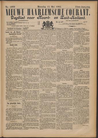 Nieuwe Haarlemsche Courant 1905-05-15