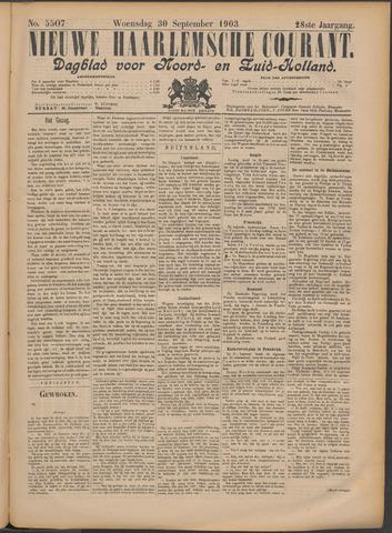 Nieuwe Haarlemsche Courant 1903-09-30