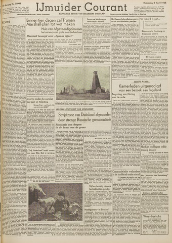 IJmuider Courant 1948-04-01