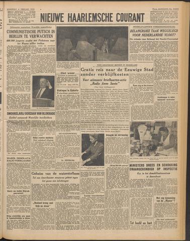 Nieuwe Haarlemsche Courant 1950-02-06