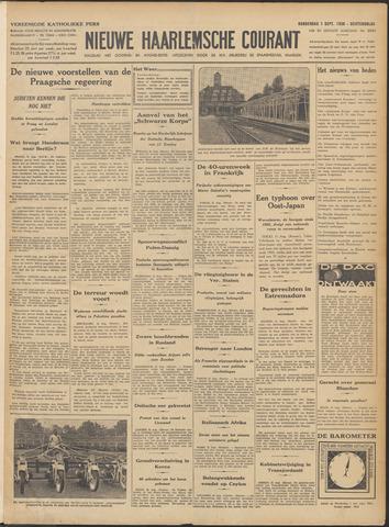 Nieuwe Haarlemsche Courant 1938-09-01