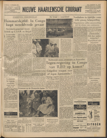Nieuwe Haarlemsche Courant 1960-09-10