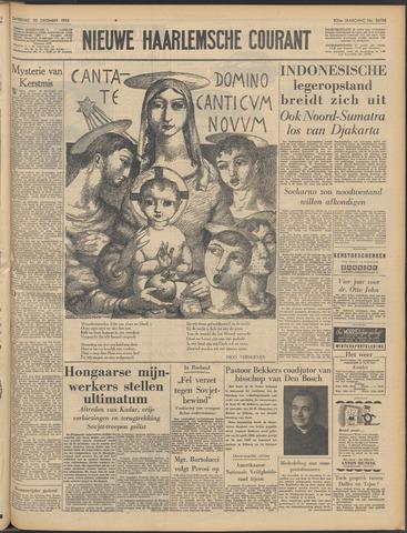 Nieuwe Haarlemsche Courant 1956-12-22