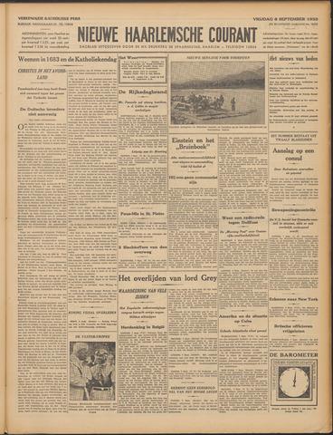 Nieuwe Haarlemsche Courant 1933-09-08