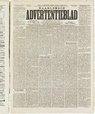 Haarlemsch Advertentieblad 1882-06-14