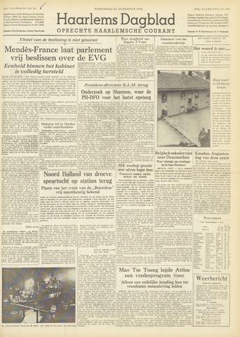 Haarlem's Dagblad 1954-08-25