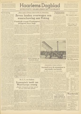 Haarlem's Dagblad 1954-04-07