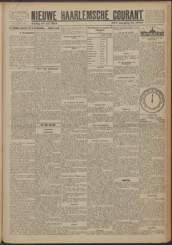Nieuwe Haarlemsche Courant 1923-07-27