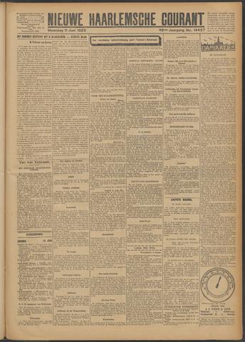 Nieuwe Haarlemsche Courant 1923-06-11