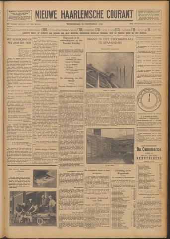 Nieuwe Haarlemsche Courant 1930-12-24
