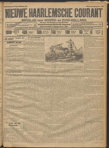 Nieuwe Haarlemsche Courant 1911-09-27