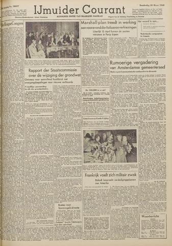 IJmuider Courant 1948-03-25