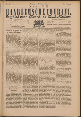 Nieuwe Haarlemsche Courant 1898-11-16
