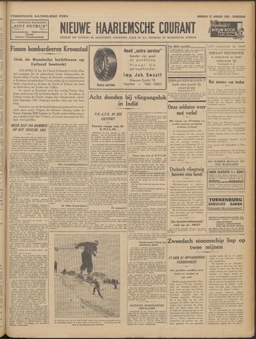 Nieuwe Haarlemsche Courant 1940-01-22