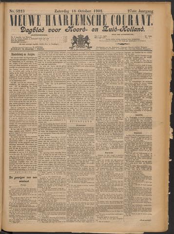 Nieuwe Haarlemsche Courant 1902-10-18