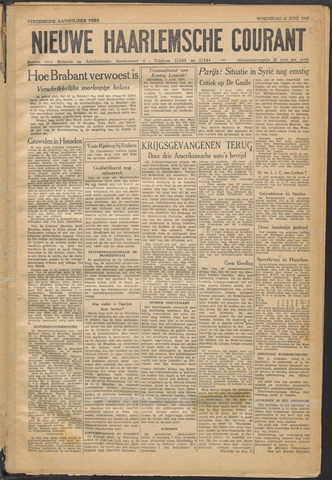 Nieuwe Haarlemsche Courant 1945-06-06