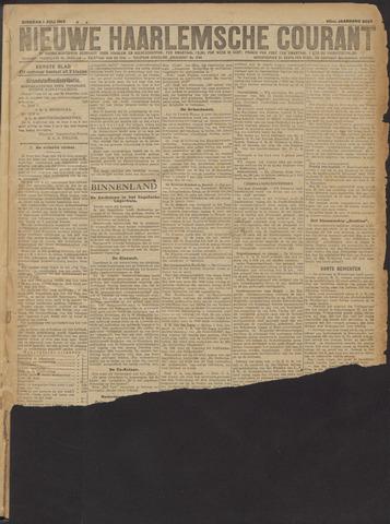 Nieuwe Haarlemsche Courant 1919-07-01