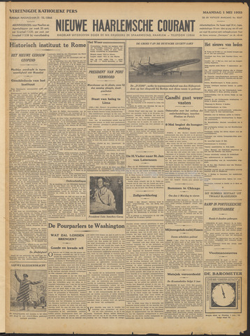 Nieuwe Haarlemsche Courant 1933-05-01