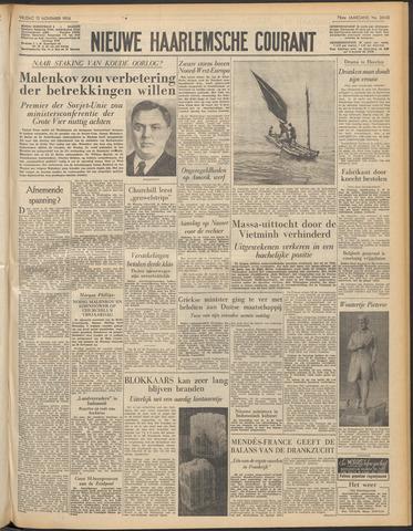Nieuwe Haarlemsche Courant 1954-11-12