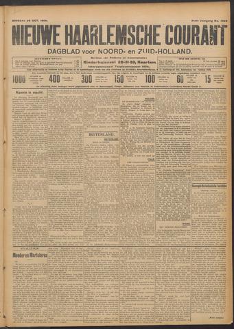 Nieuwe Haarlemsche Courant 1909-10-26