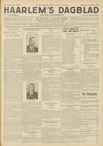 Haarlem's Dagblad 1935-11-14