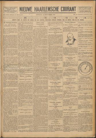 Nieuwe Haarlemsche Courant 1930-11-18