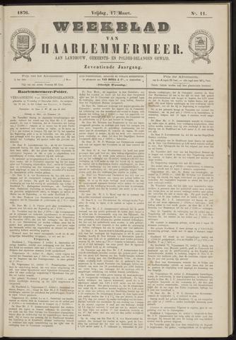 Weekblad van Haarlemmermeer 1876-03-17