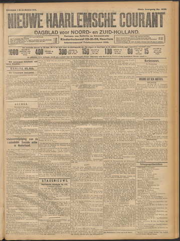 Nieuwe Haarlemsche Courant 1911-12-01