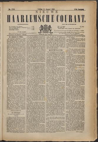 Nieuwe Haarlemsche Courant 1892-01-15