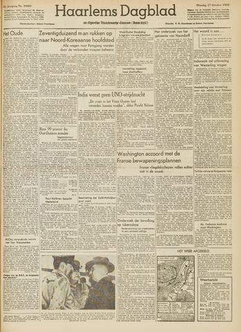 Haarlem's Dagblad 1950-10-17