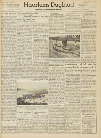 Haarlem's Dagblad 1950-02-14