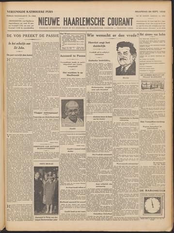Nieuwe Haarlemsche Courant 1932-09-26