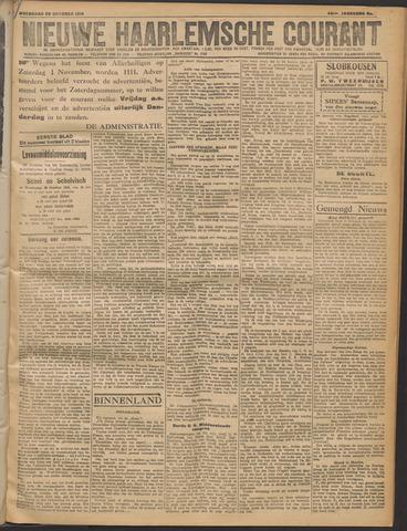 Nieuwe Haarlemsche Courant 1919-10-29