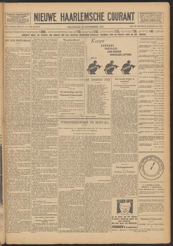 Nieuwe Haarlemsche Courant 1931-11-30