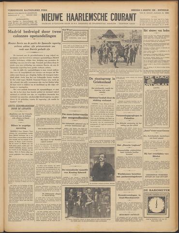 Nieuwe Haarlemsche Courant 1936-08-06