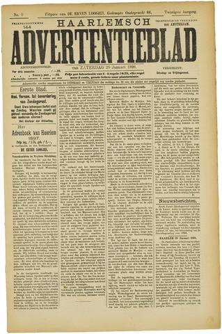 Haarlemsch Advertentieblad 1898-01-29