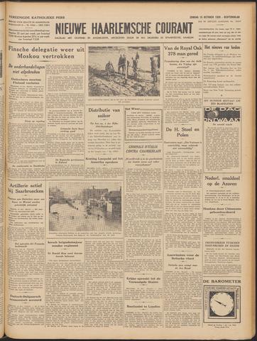 Nieuwe Haarlemsche Courant 1939-10-15